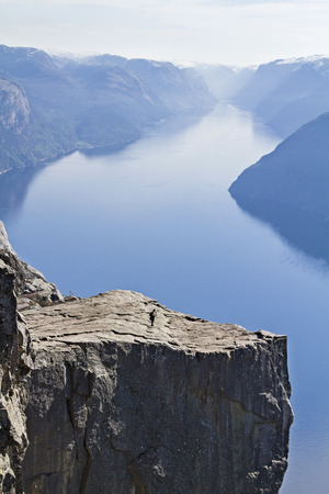 Preikestolen - most popular and busiest hike in Norway and Scandinavia a must for every traveler