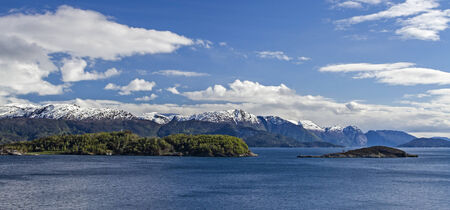 best known: Hardangerfjorden one of the best known and largest fjords on the Norwegian west coast