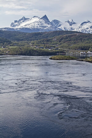 strongest: The Salt traumas, located in the province of Nordland in Norway, is the strongest tidal current in the world.