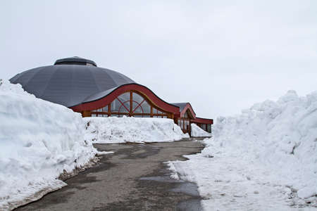 encountered: later in May, are in the Arctic Circle Center winter conditions encountered