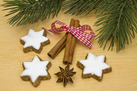 seasonally: cinnamon cookies must be in the Christmas time on any cookie plate