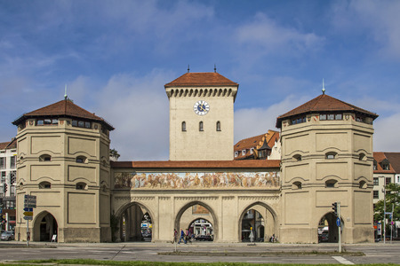The Isar Gate, the eastern gate in Munich hosts the Valentin-Karlstadt Museum.