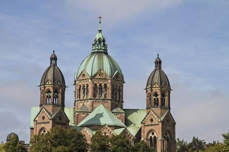 ルーク: 聖ルカは唯一ミュンヘンでの歴史主義のプロテスタント教会をほぼ完全に維持されます。