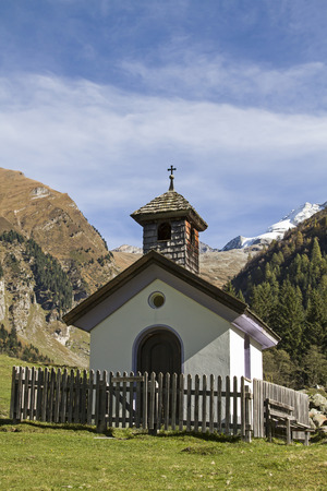 piety: Small chapel in the Vals valley in Tyrol