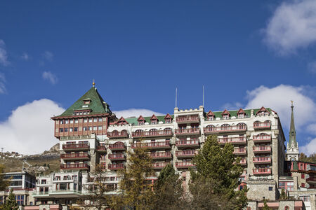 mundane: Badrutt Palace Hotel -  Luxury hotel in the exclusive resort of St. Moritz