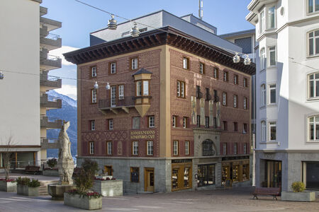 The Cafe Hanselmann in St. Moritz is a paradise for everyone with a sweet tooth