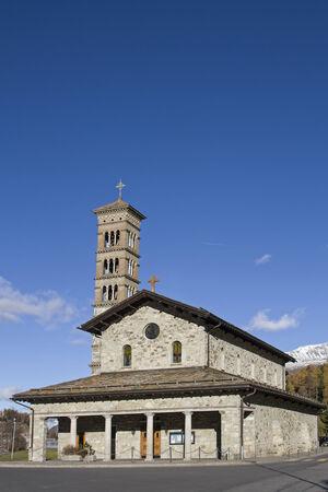 st charles: St. Charles Borromaeus anche chiamato Bath Chiesa si trova in Moritz Bad, vicino al idilliaco Lej da San Murezzan Archivio Fotografico
