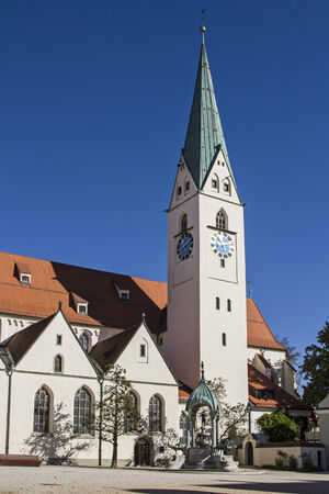 mang: St. Mang  - Protestant parish church in Kempten was built in the 15th century