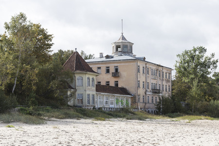jurmala: Formerly magnificent bathing establishments and hotels can be found on the Baltic Sea beach of Jurmala, not far from Riga