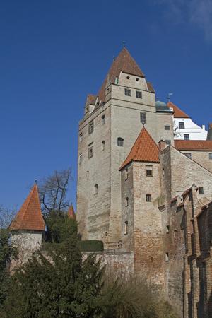 landshut: castle Trausnitz in Landshut