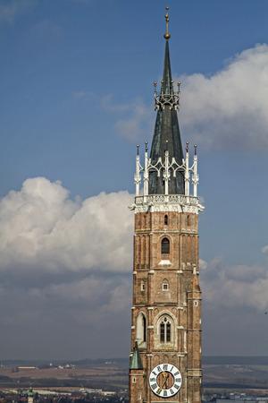 landshut: The church of St. Martin in Landshut is 133 meters, the tallest brick building in the world