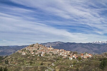 apennines: Baiardo popular destination in the Ligurian Apennines