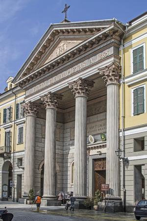 bosco: Cathedral of Santa Maria del Bosco in Via Roma in Cuneo