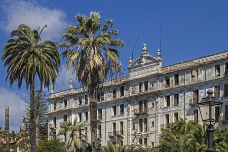 morbid: Villa anxiety morbid ruins of a grand hotel in Bordighera