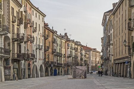 Roma: The Via Roma is the main artery of the old Cuneo
