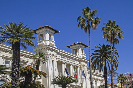 even today much visited - Casino Municipale in San Remo