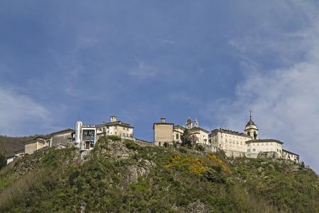 pilgrimage: The Holy Mountain Sacro Monte di Varallo Varallo Valsesia is a famous pilgrimage site