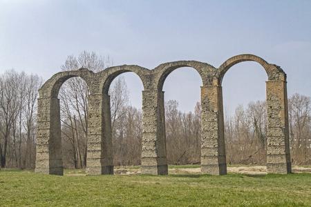 aqueduct: Roman aqueduct in Acqui Terme in Piedmont