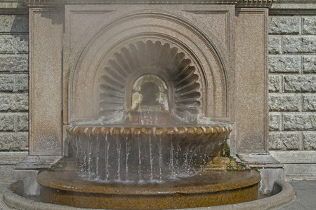 Hot springs in Acqui Terme donates about 75 C hot thermal water in the center of the city.