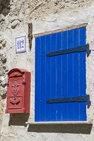 impressions: Impressions and details from the small French village of Tende Stock Photo