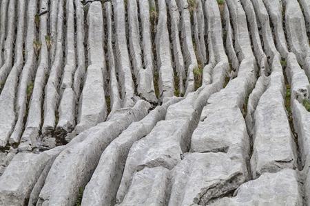 luxacion: Durante miles de años de agua, viento y el clima creado estas formas interesantes Foto de archivo