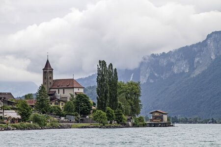 eponymous: Brienz is a village in the canton of Bern and lies directly on the eponymous Lake Brienz