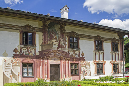 passion play: The Pilatus house in Oberammergau is known especially for its outstanding paintings Editorial