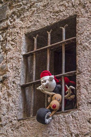 weihnachtsmann: Forgotten Santa Claus - impressions and details from the small Ligurian village of Badalucco