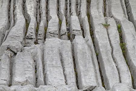 dislocation: Durante miles de años de agua, viento y el clima creado estas formas interesantes Foto de archivo