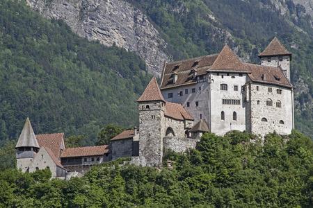 gutenberg: Gutenberg Castle is a medieval castle high over  the town of Balzers in Liechtenstein Editorial