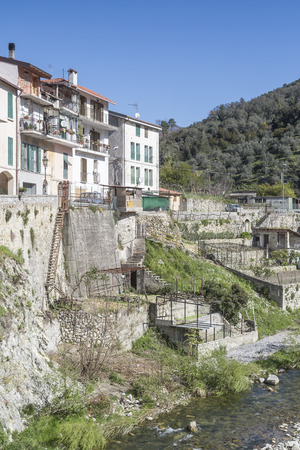 and is favorable: Torri - favorable destination in Ligurian Apennines Stock Photo
