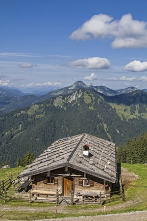 overnight stay: Upper Wildfeldalm - idyllic mountain lodge at you pass the increase to Rotwand summit