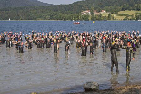 disciplines: Triathlon - competitieve sport bestaat uit drie verschillende disciplines