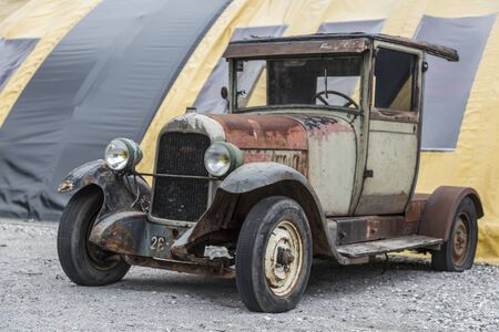 oldie: Disused Oldtimer awakens nostalgic feelings