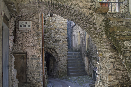 torri: Impressions and details from the small Ligurian village of Torri Editorial