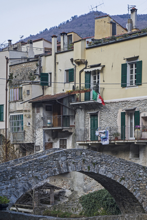 residential settlement: Zuccarello - place worth visiting in inland in Liguria