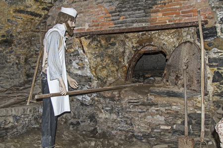 Old Public Baking Oven In A Ligurian Village Stock Photo