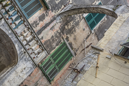 impressions: Impressions from the small Ligurian town of Taggia Stock Photo