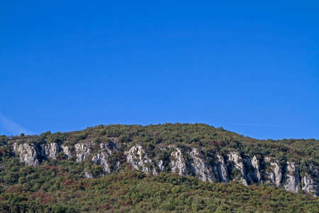 the crags: The climbing rock Marciaga are visited by many sports enthusiasts Lake Garda tourists
