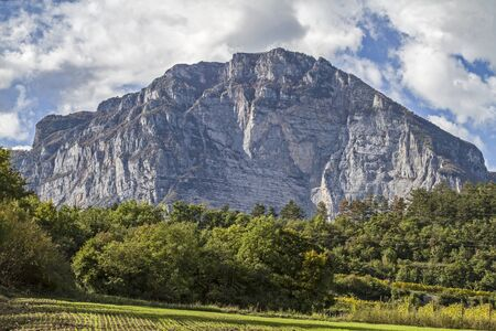 trentino: The Monte Casale is a 1632 meter high mountain in the Lake Garda mountains in Trentino in Italy