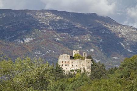 castel: Castel Madruzzo - idyllic Castel, which overlooks the village of Lasino in Val Cavedine