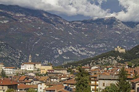 locality: Castel Madruzzo - idyllic Castel, which overlooks the village of Lasino in Val Cavedine