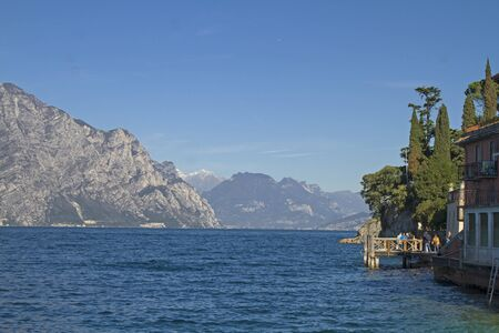 north end: View from Malcesine to the north end of Lake Garda