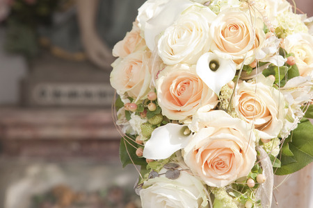 An indispensable accessory for any bride - the bridal bouquet