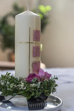 Symbolic wedding details - the wedding candle