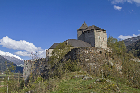 bulwark: Castle Reifenstein - medieval fortress south of Sterzing in South Tyrol Editorial