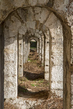 scala: Tagliata della scala - old fortifications from the First World War