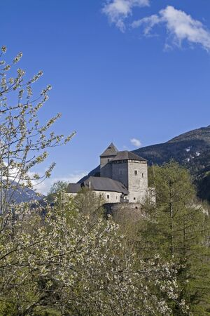 tyrol: Castle Reifenstein - medieval fortress south of Sterzing in South Tyrol Editorial