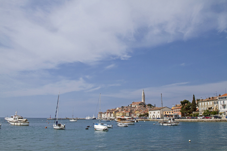 adria: Rovinj - idyllic Croatian town picturesquely situated on a peninsula