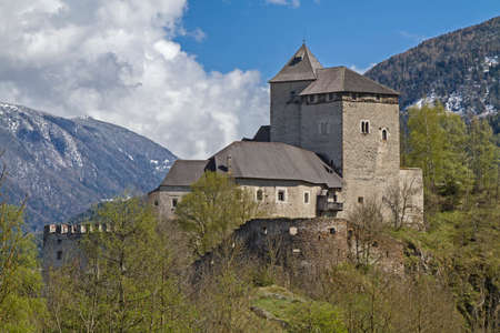 bulwark: Castle Reifenstein - find medieval stronghold south of Sterzing in South Tyrol Editorial